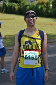 Marathon Maniac, Cape Vaal Marathon, South Africa.