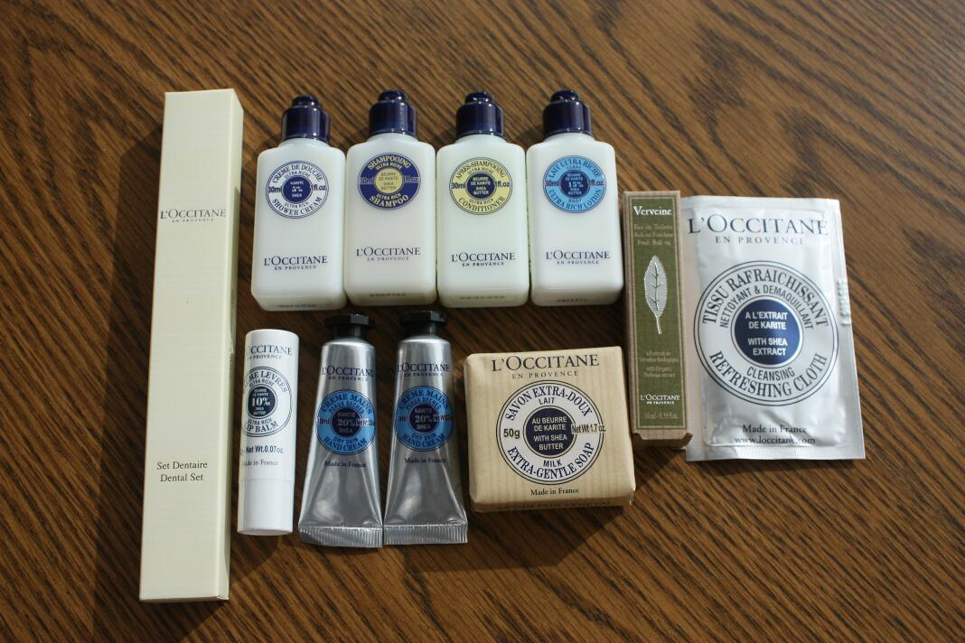 DFW Centurion Lounge and Free L'Occitane Gift Bag Review - Running ...